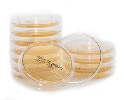 Contact agar plates for environmental monitoring